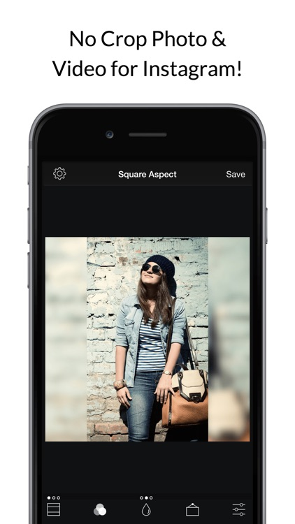 Square Fit Photo Video Editor