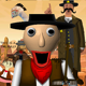 Sheriff Baldi in Wild West