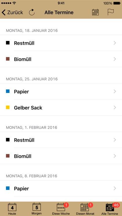 Abfall App Sigmaringen