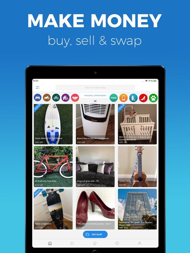 Hawaii swap: Buy, Sell & Swap on the App Store