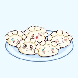 疯狂饺子Sticker