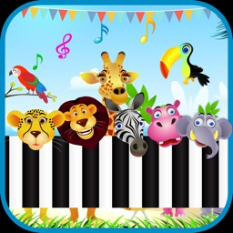 Baby Piano Animal Sounds Games