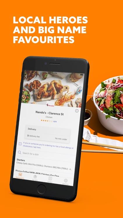 Menulog - Food Delivery screenshot-3