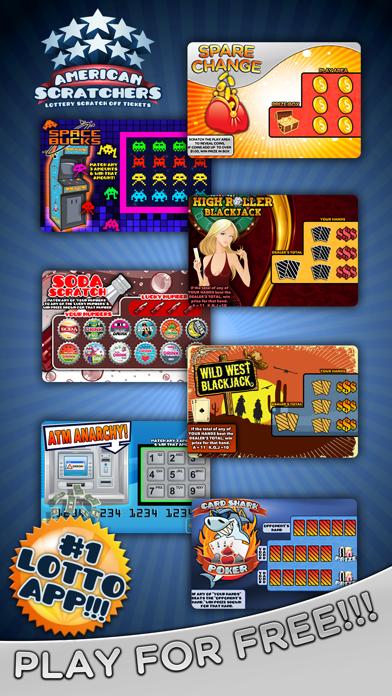 American Scratchers Lottery - by Tiny Mobile Inc  - Casino