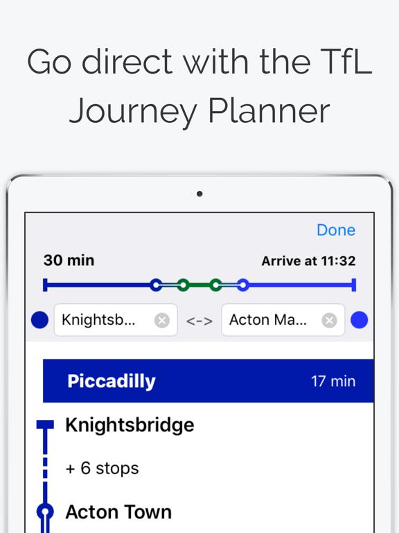 London Tube Map screenshot