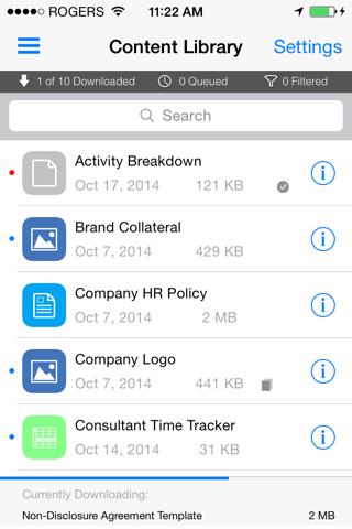 Скриншот из SOTI MobiControl
