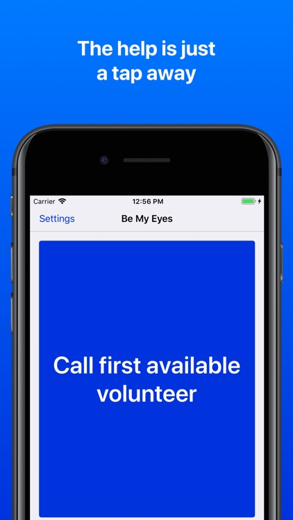 Be My Eyes – Helping the blind screenshot-4