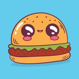 Foodmoji Emotions Stickers