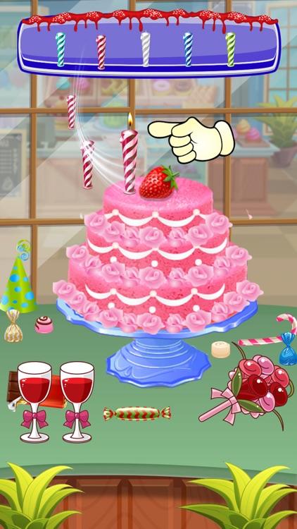 Bake Cake Maker Kitchen Game screenshot-3
