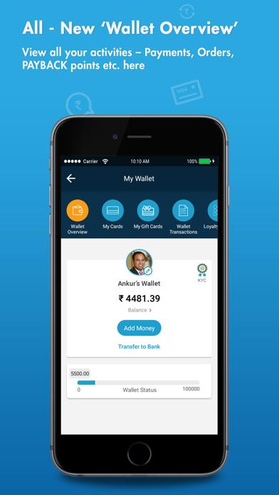Oxigen wallet-Recharge, Money screenshot two