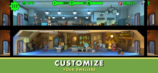 ‎Fallout Shelter Screenshot