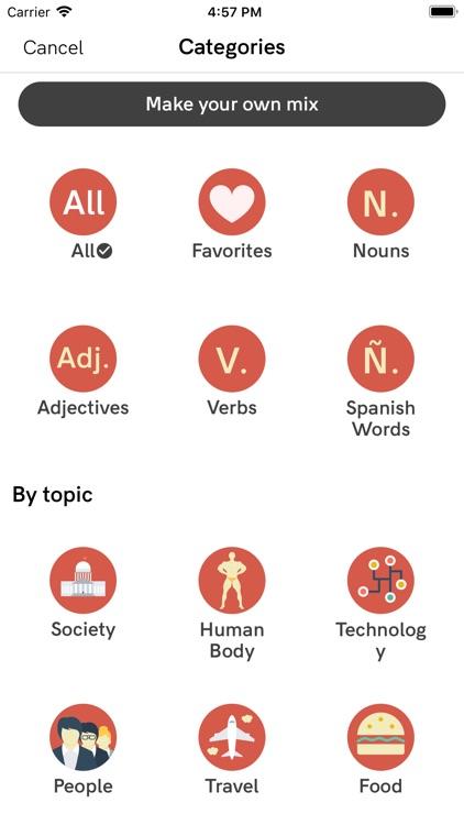 Vocabulary - Learn New Words screenshot-3