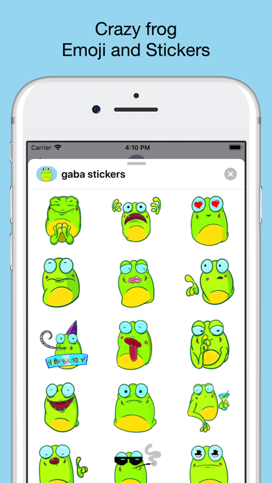 Crazy frog emojis - stickers screenshot 1
