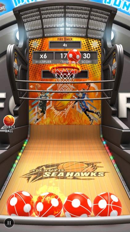 Basketball Flick 3D screenshot-0