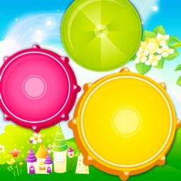 Babies Drums Kit - Colorful!