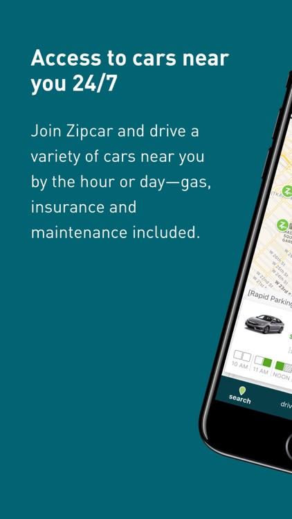 Zipcar screenshot-0