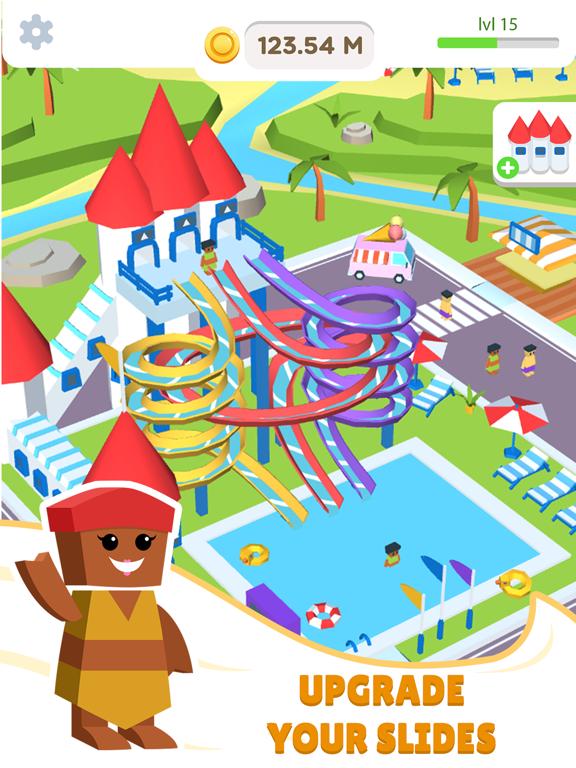Idle Waterpark 3D Fun Aquapark screenshot 5