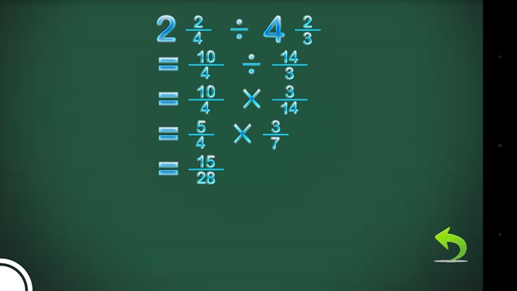 Fraction Calculator & progress screenshot-2