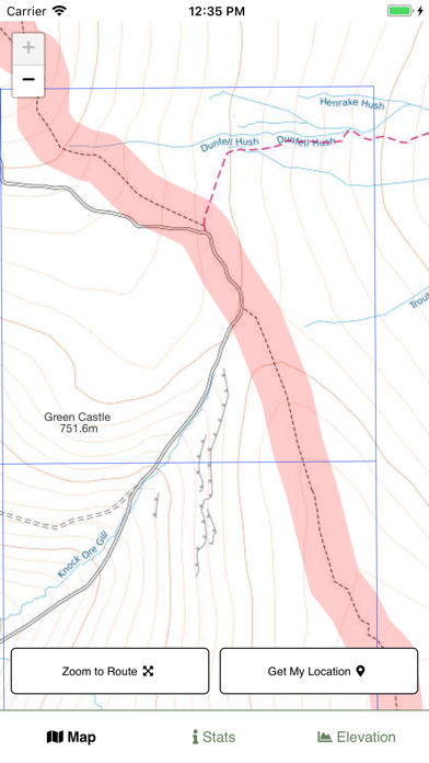 Pennine Way Map screenshot 2