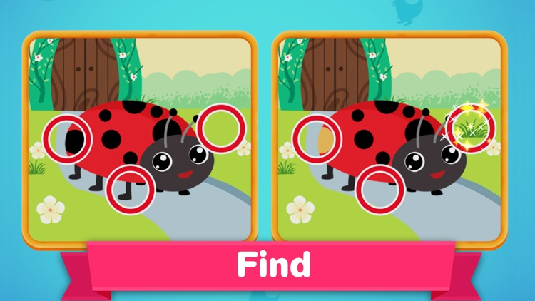 Dino Spot the Difference Games screenshot-3