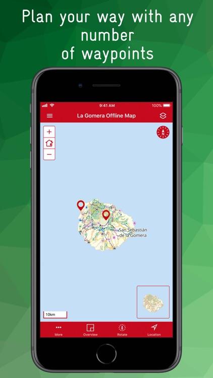 La Gomera Offline Map screenshot-9