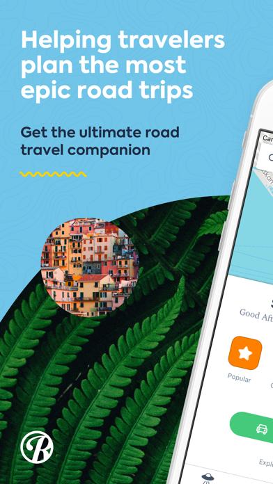 Roadtrippers - Trip Planner Screenshot