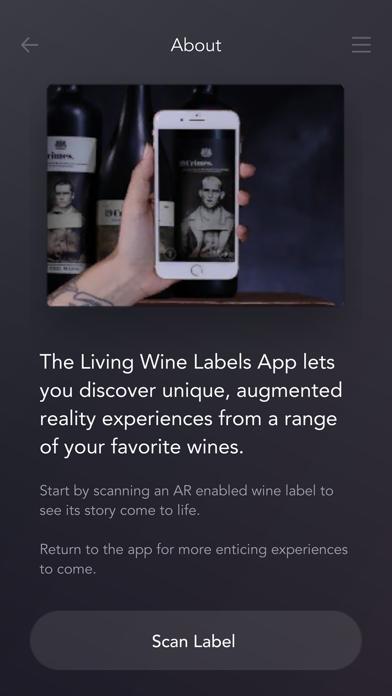 Living Wine Labels screenshot two