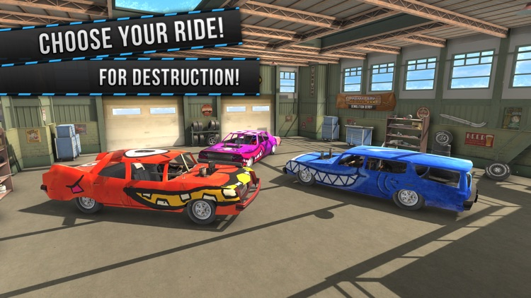 Demolition Derby (VR) Racing screenshot-3