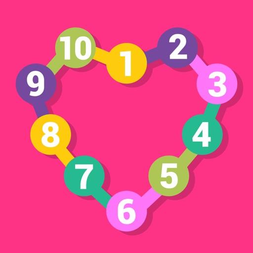 Соедини точки - учимся считать