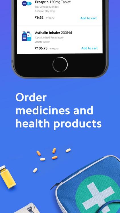 Practo - Doctors and Medicines screenshot-3