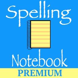 Spelling Notebook Premium