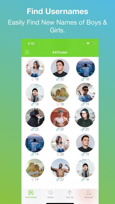 KKFinder - Find Usernames screenshot one