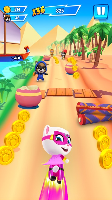 Talking Tom Hero Dash Run Game