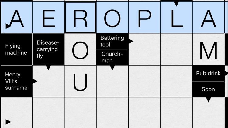 Clean Crosswords screenshot-4