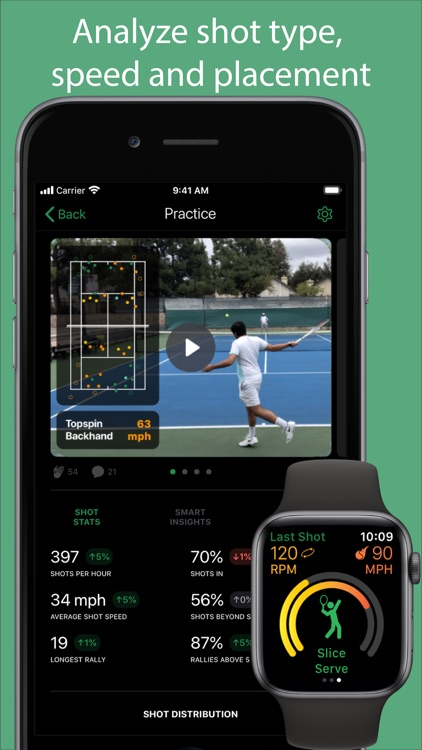 SwingVision: Tennis at Home