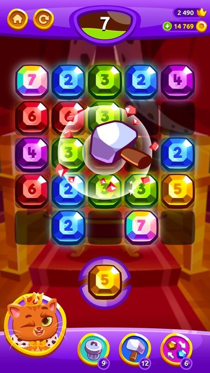 Bubbu Jewels - Merge Puzzle screenshot-6