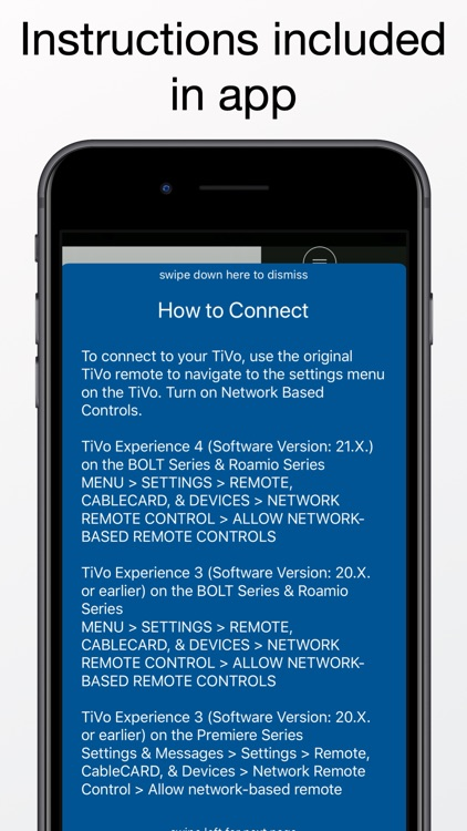 Easy Remote for TiVo