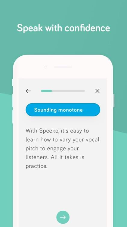 Speeko - Public Speaking Coach screenshot-3