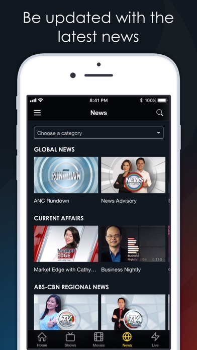 TFC tv by ABS-CBN Interactive, Inc  (iOS, United States