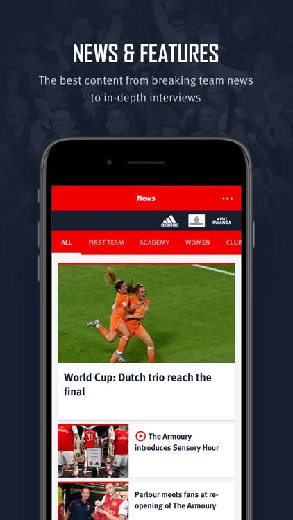 Arsenal Official App screenshot-4