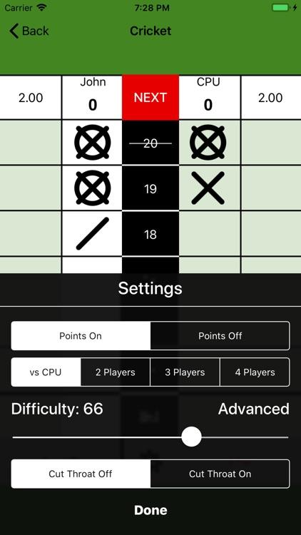 Simple Darts Scoreboard screenshot-3