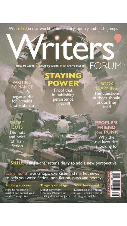 Writers' Forum Magazine screenshot-5