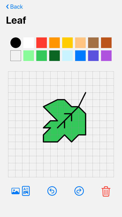Screenshot of Coordigo: Coordinate Drawings! App