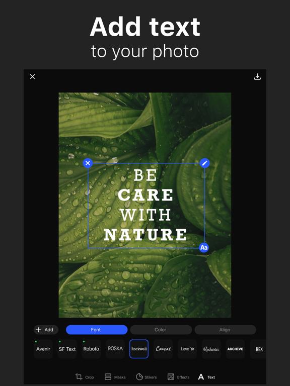 Title - Add Text On Photoのおすすめ画像1