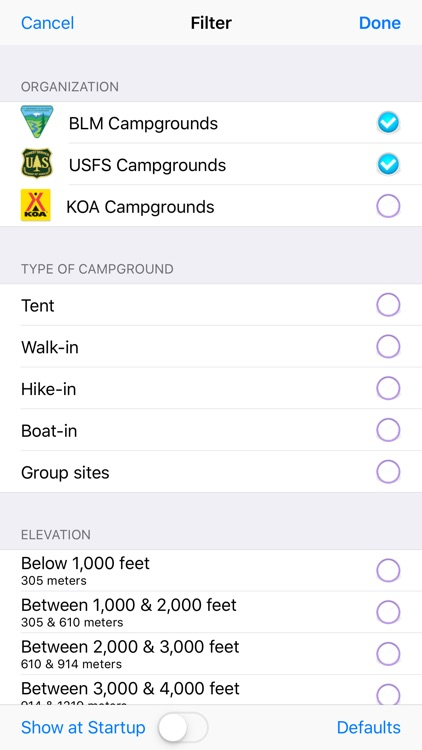 USFS and BLM Campgrounds screenshot-6