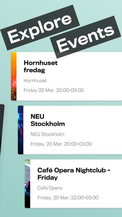 Keyflow - Your key to global nightlife screenshot