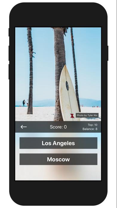 Travel Challenge - Geo Quiz Screenshots