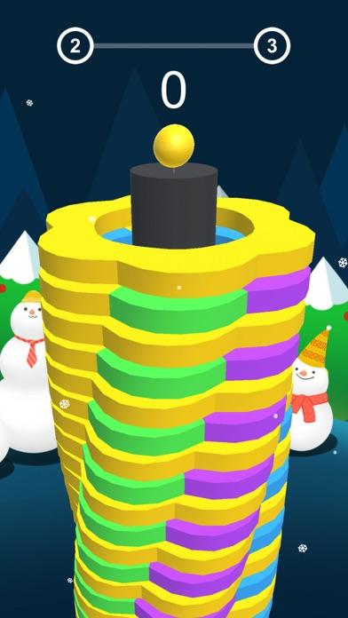 Smash Ball - Hit Same Color 3D Screenshot on iOS