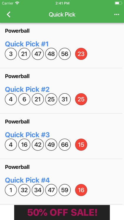 GA Lottery Results by Matthew SAAVEDRA
