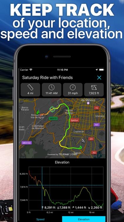 Scenic Motorcycle Navigation screenshot-7